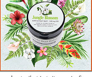 NEW Summer Limited Edition Balm – JUNGLE BLOSSOM!