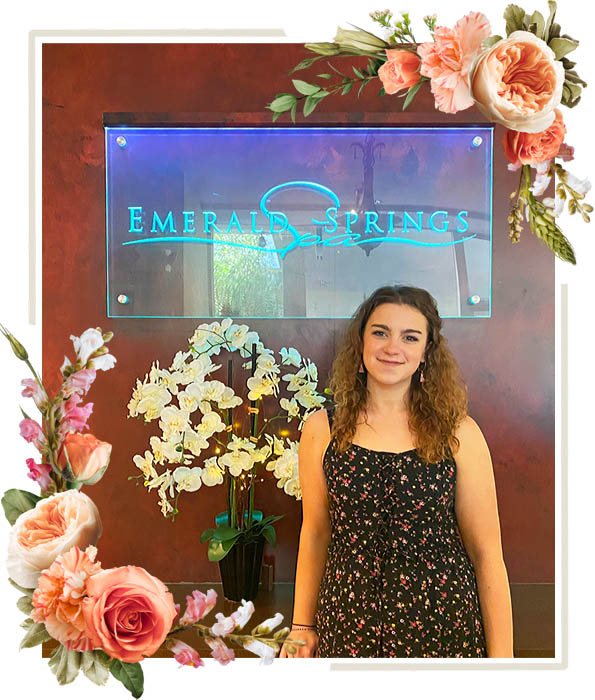 Cassie - Assistant Spa Manager of Emerald Springs Spa